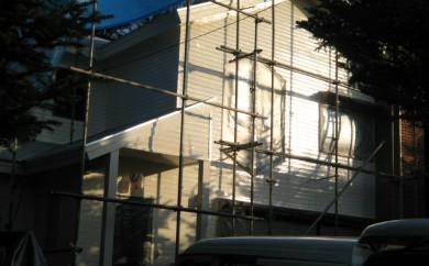 山梨県河口湖別荘外壁改修工事