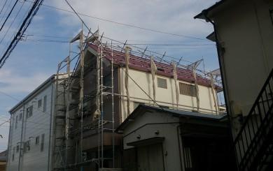 八王子市 住宅外壁・屋根 改修工事中